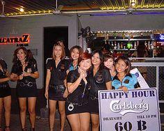 Naked girls in nightclubs bars