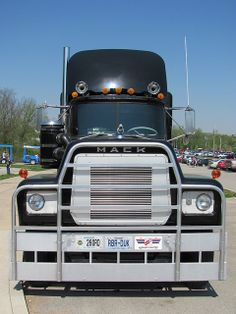 "Rubber Duck Mack Truck RS700L from the movie ""Convoy"" at Museum of Transportation - St. Louis."