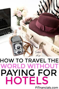 Find out how to travel the world without paying for hotel accommodations. This is such a great idea. Travel Blog, Travel Advice, Travel Tips, Travel Goals, Travel Packing, Cheap Travel, Budget Travel, Money Saving Tips, Ways To Save Money