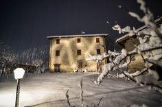{Photos} A Snowy Night in Le Marche