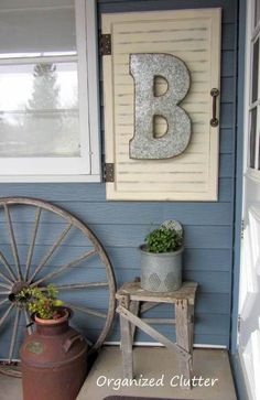 Roadside Sign Porch Lettering