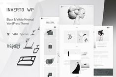 Inverto - Minimal WordPress Theme by IshYoBoy on @creativemarket