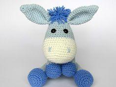 Donkey Ruda amigurumi crochet pattern by DioneDesign