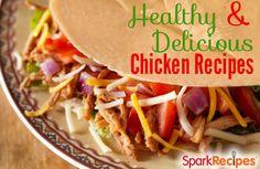 Lean & Healthy Chicken Recipes