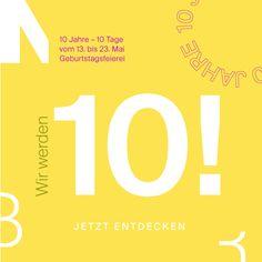 Entdecke vom 13. bis 23.05.2021 viele Rabattaktionen auf Designermöbel, Lampen, Wohnaccessoires, Gartenmöbel und mehr! Außerdem wartet ein tolles Gewinnspiel auf dich! Design Bestseller, Best Sellers, Promotion, 10 Years, Action, Home Decor Accessories, Birth