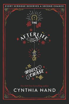 #CoverReveal   The Afterlife of Holly Chase by Cynthia Hand