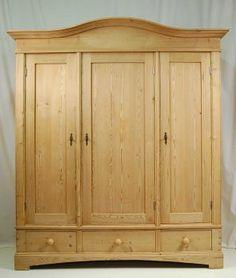 Victorian Wardrobe Pine