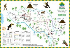 Property Map | Arenal Observatory Lodge