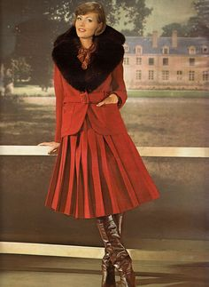 Jean Patou  Jours de France - October 1974 (I cannot think of a time between now and then that this could not have been worn, it still looks fantastic!)