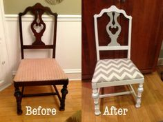 Thrift Store Treasures: DIY Upholstered Dining Chair