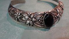 Carol Felley Design Sunrise 925 Sterling Silver Collar Chocker Floral Necklace