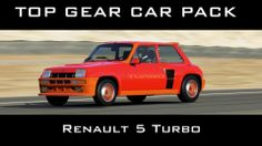 Forza 5 - Renault 5 Turbo - Top Gear Car Pack Game Play Top Gear, Games To Play, Gears, Packing, Renault 5, Bag Packaging, Gear Train