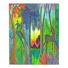 Decorative Wood Plank Wall Art | Jennifer Baird Twilight The Gate Between Worlds