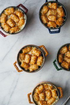tater tot chicken pot hotdish  — molly yeh