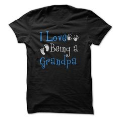 I Love being a Grandpa - #tshirt ideas #sweatshirt women. CHECKOUT => https://www.sunfrog.com/LifeStyle/I-Love-being-a-Grandpa.html?68278