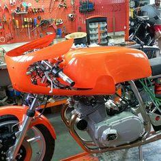 Laverda 750 SFC Replica @ Moto Officina www.moto-officina.com