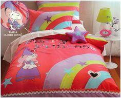 Fairy Princess quilt cover set http://www.kidsbeddingdreams.com/princess-bedding/cid-70/ #girls #bedding