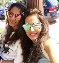 Hina Khan finds a new gym trainer in Geeta Phogat in Spain #FansnStars