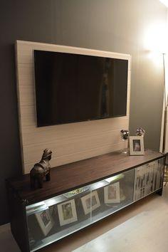 Olohuoneen muutos, televisio sein�