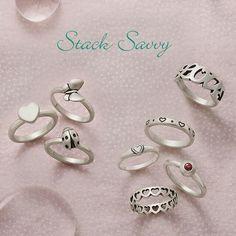 James Avery Jewelry: Stack Savvy