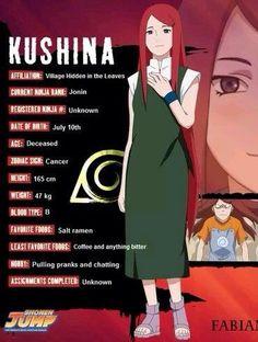 Kushina character info