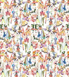 Ballets Russes Mini on Diaghilev Wallpaper – Voutsa Modern Floral Wallpaper, White Wallpaper, Ballet Wallpaper, How To Install Wallpaper, Wallpaper Panels, Wallpaper Installation, Hd Wallpaper, Wallpapers, Chinoiserie Wallpaper