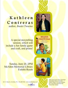 Domingos Divertidos: Kathleen Contreras, author.