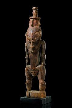 "Male ancestor figure ""blaal"" Papua New Guinea - Sepik"
