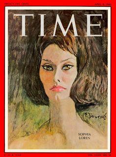 So many Sophias: Sophia Loren in covers – TIME 1962