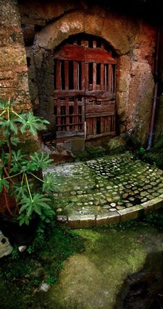 Fairy door in Calcata, Italy • photo: Adalberto Tiburzi on Pbase
