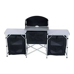 Ozark Trail Camping Outdoor Use Kitchen Cooking Stand Walmart Com Summer Pinterest Camping Camping Table And Ozark Trail