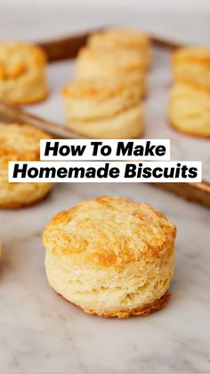 Breakfast Recipes, Dessert Recipes, Homemade Biscuits, Biscuit Recipe, Diy Food, Pain, Cake Pops, Love Food, Baking Recipes