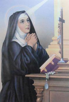 Imagen de Santa Rita de Asís, patrona de las causas imposibles y de las mujeres casadas