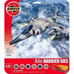 Set includes Humbrol poly cement, 1 paint brush and 4 acrylic paints. Airfix Models, British Aerospace, Royal Air Force, Things To Buy, Bae, Travel, Viajes, Traveling, Trips