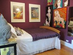 """Tahnee's """"Comfortable Glam"""" Room Room for Color Contest 