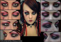 Emilie Autumn Makeup!