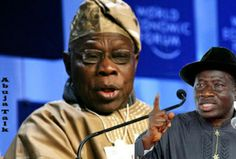 """""""IN TERMS OF SECURITY MY EDUCATION FORBIDS ME RAZING DOWN A TOWN AS YOU DID AT ODI""""...SAYS GEJ TO OBJ...TO NIGERIANS THESE ARE WHAT WE ARE DOING TO MAKE THE COUNTRY SAFER...S"""