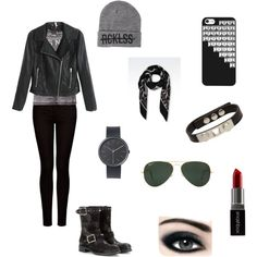 """""""rock outfit !"""" by enjoyfashion22 on Polyvore"""