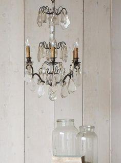 Antique Chandelier Antique Chandelier, Chandeliers, Southern Cottage, Led Flashlight, Vintage Decor, Interior Inspiration, Shabby Chic, Ceiling Lights, French
