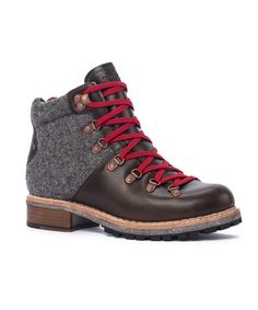 Women's Rockies Hiker Boot by WOOLRICH® The Original Outdoor Clothing Company