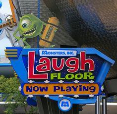 Walt Disney World - Magic Kingdom - Laugh Floor