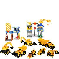 "MAGFORCE Central Command Center Construction and Dump Truck Set - Toys R Us - Toys ""R"" Us"