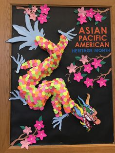 The Columbia Branch offers a creative display to celebrate Asian Pacific American Heritage Month Library Activities, History Activities, School Library Displays, Islands In The Pacific, Art And Craft Videos, Heritage Month, American Literature, Asian History, Art Lessons Elementary
