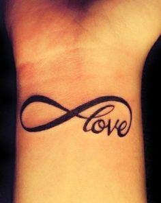Love N Infinity Symbol Tattoo On Wrist - http://tattoosaddict.com/love-n-infinity-symbol-tattoo-on-wrist.html infinity, infinity tattoo, infinity tattoos, love, n, o, on, symbl, symbol, tatt, tattoo, wrist