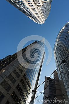 Corporate Office Buildings Against Blue Sky - Download From Over 26 Million High Quality Stock Photos, Images, Vectors. Sign up for FREE today. Image: 30479389