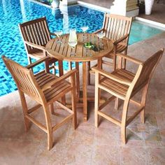 Teak furniture maintenance - how to clean, whether teak oiling is necessary, and how to deal with teak that is unfinished or stained