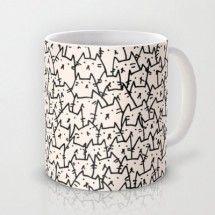 ¡También hay tazas para los amantes de los gatos!