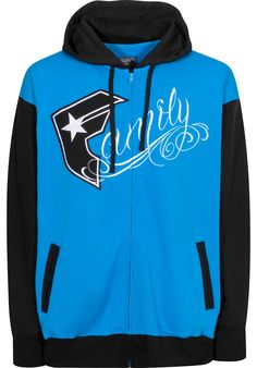 Famous Stars and Straps Fams Zip-Hoodie turquoise-black | Titus Onlineshop