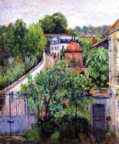 View of Sèvres - Alfred Sisley - circa 1879