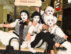 Mime Costume, Costumes, Mime Makeup, Halloween Face Makeup, Female Clown, Cute Clown, Design Show, Clowns, Costume Ideas